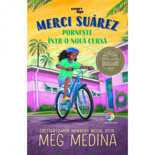 Carte Editura Corint - Merci Suarez porneste intr-o noua cursa - Meg Medina - Carti pentru copii -