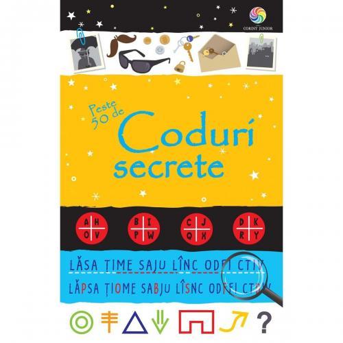 Carte Editura Corint - Peste 50 de coduri secrete - Emily Bone - Carti pentru copii -