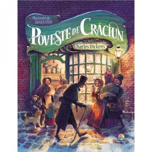 Carte Editura Corint - Poveste de Craciun - Charles Dickens - Carti pentru copii -