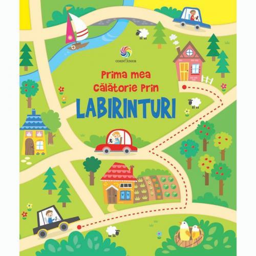Carte Editura Corint - Prima mea calatorie prin labirinturi - Kirsteen Robson - Carti pentru copii -