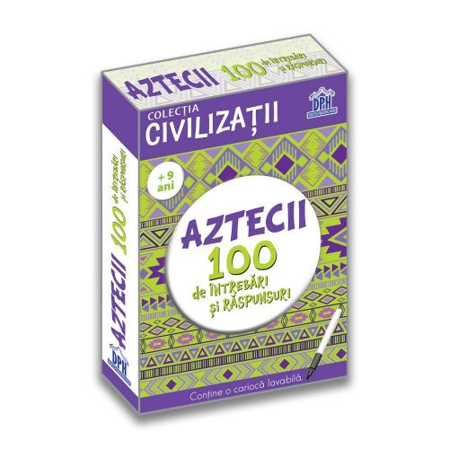 Carte Editura DPH - Aztecii 100 de intrebari si raspunsuri - Girmacea Gabriela - Carti pentru copii -