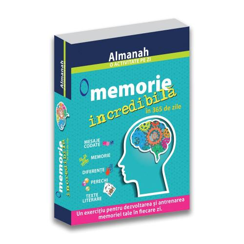 Carte Editura DPH - O memorie incredibila in 365 de zile - Almanah - Carti pentru copii -