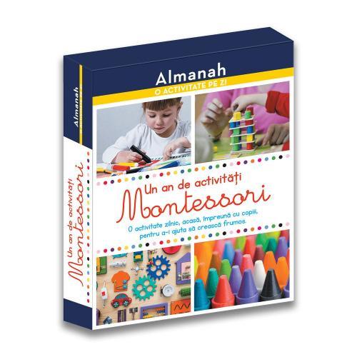 Carte Editura DPH - Un an de activitati Montessori - Almanah - Carti pentru copii -