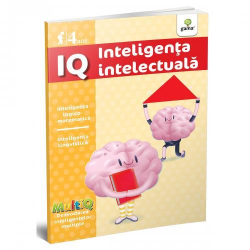 Carte Editura Gama - IQ 4 ani - MultiQ - Carti pentru copii -