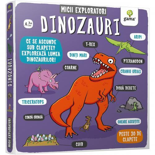 Carte Editura Gama - Micii exploratori - Dinozauri - Carti pentru copii -