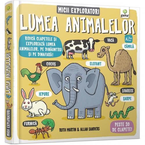 Carte Editura Gama - Micii exploratori - Lumea animalelor - Carti pentru copii -