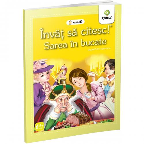 Carte Editura Gama - Sarea in bucate - Invat sa citesc! Nivelul 0 - Carti pentru copii -