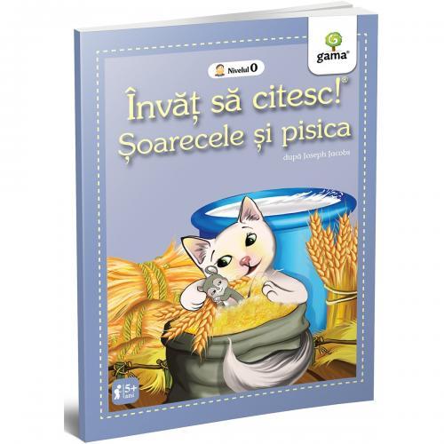 Carte Editura Gama - Soarecele si pisica - Invat sa citesc! Nivelul 0 - Carti pentru copii -