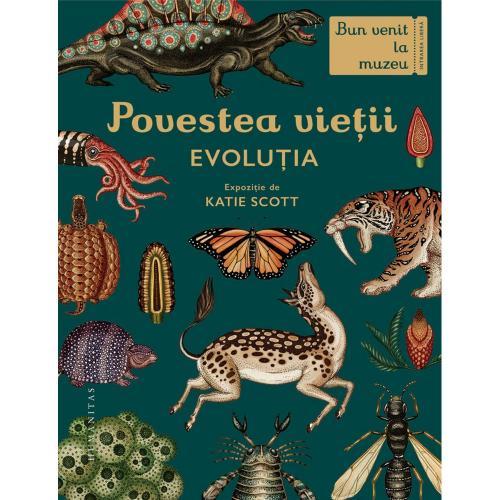 Carte Editura Humanitas - Povestea vietii: Evolutia - Fiona Munro - Carti pentru copii -