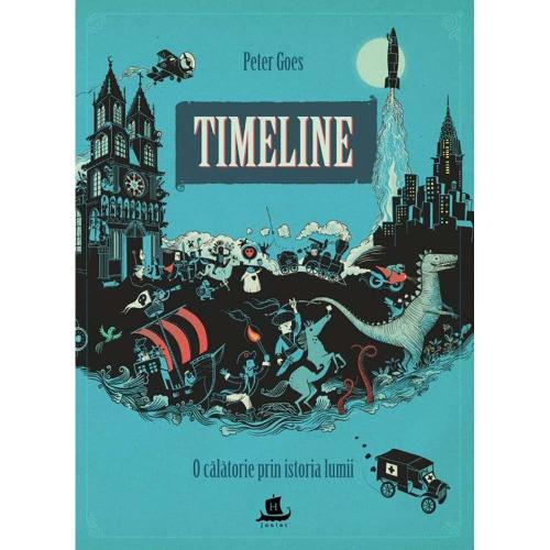 Carte Editura Humanitas - Timeline: O calatorie prin istoria lumii - Peter Goes - Carti pentru copii -