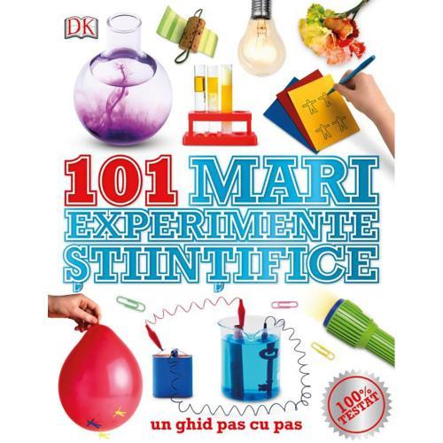 Carte Editura Litera - 101 mari experimente stiintifice - Carti pentru copii -
