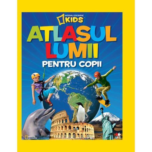 Carte Editura Litera - Atlasul lumii pentru copii - National Geographic - Carti pentru copii -