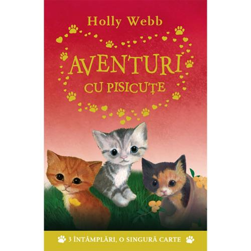 Carte Editura Litera – Aventuri cu pisicute – Holly Webb
