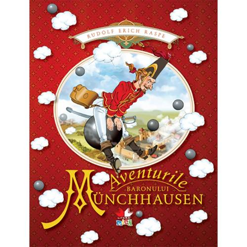 Carte Editura Litera - Aventurile baronului Munchhausen - Carti pentru copii -