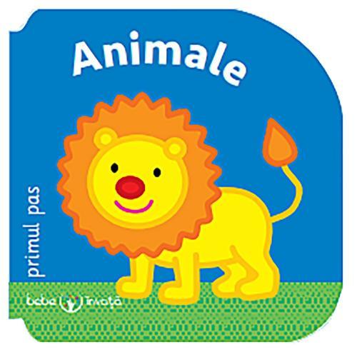 Carte Editura Litera - Bebe invata Animale Primul pas - Carti pentru copii -