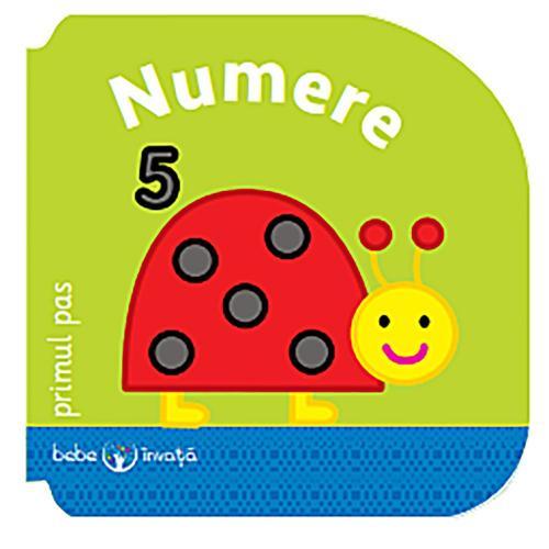 Carte Editura Litera - Bebe invata Numere Primul pas - Carti pentru copii -