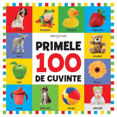 Carte Editura Litera - Bebe invata Primele 100 de cuvinte - format mare - Carti pentru copii -