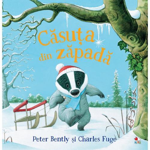 Carte Editura Litera - Casuta din zapada - Peter Bently - Carti pentru copii -