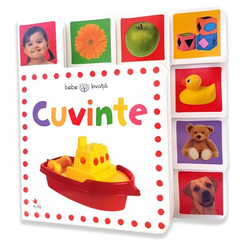 Carte Editura Litera - Cuvinte Bebe invata Minitab - Carti pentru copii -