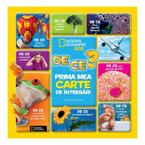 Carte Editura Litera - De ce? Prima mea carte de intrebari - Carti pentru copii -