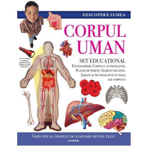 Carte Editura Litera - Descopera Lumea - Corpul uman - Carti pentru copii -