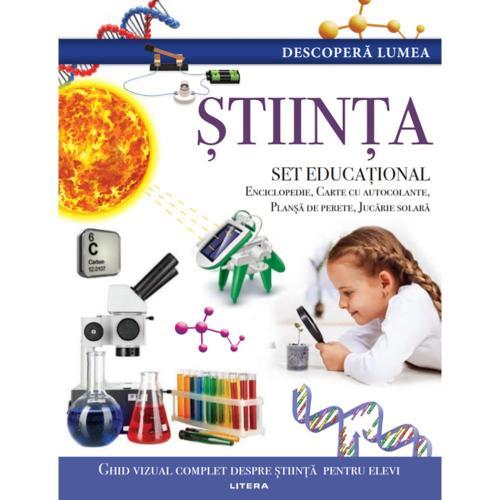 Carte Editura Litera - Descopera Lumea - Stiinta - Carti pentru copii -