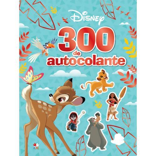 Carte Editura Litera - Disney 300 de autocolante - Carti pentru copii -