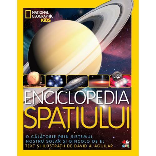 Carte Editura Litera - Enciclopedia spatiului National Geographic - Carti pentru copii -