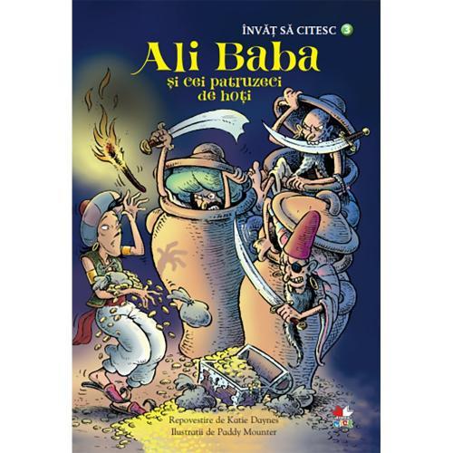 Carte Editura Litera - Invat sa citesc Ali baba si cei patruzeci de hoti - nivelul 3 - Carti pentru copii -
