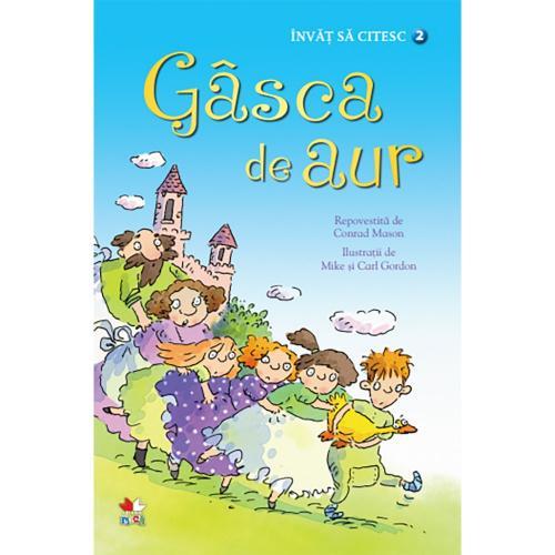 Carte Editura Litera - Invat sa citesc Gasca de aur - nivelul 2 - Carti pentru copii -