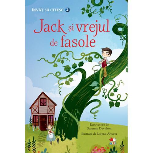 Carte Editura Litera - Invat sa citesc Jack si vrejul de fasole - nivelul 2 - Carti pentru copii -
