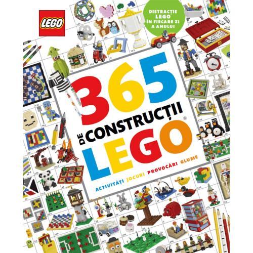 Carte Editura Litera - Lego 365 de constructii Lego - Carti pentru copii -