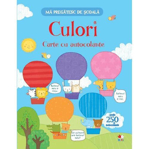 Carte Editura Litera - Ma pregatesc de scoala Culori Carte cu autocolante - Carti pentru copii -