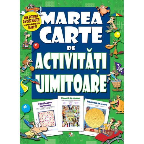 Carte Editura Litera - Marea carte de activitati uimitoare - Carti pentru copii -