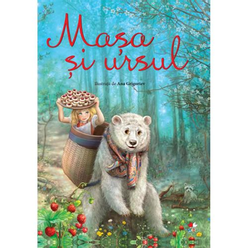 Carte Editura Litera - Masha si Ursul Ilustratii de Ana Grigoriev - Carti pentru copii -