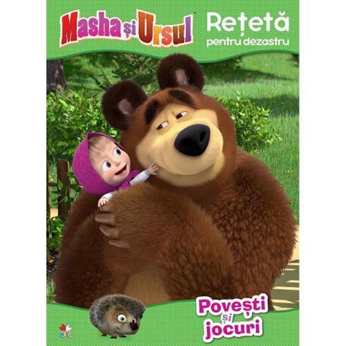 Carte Editura Litera - Masha si Ursul Reteta pentru dezastru Povesti si jocuri - Carti pentru copii -