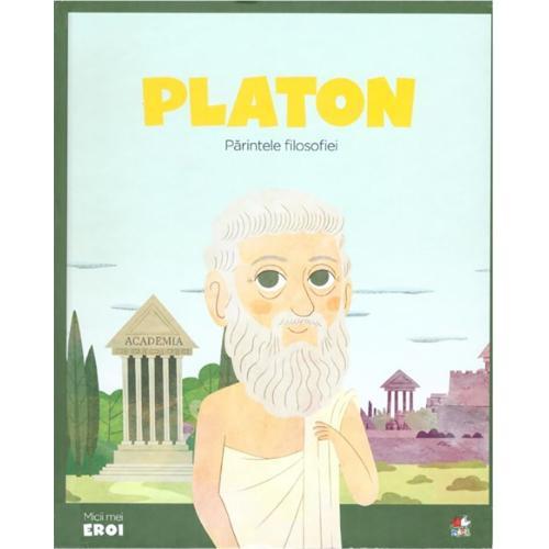 Carte Editura Litera - Micii eroi Platon - Carti pentru copii -