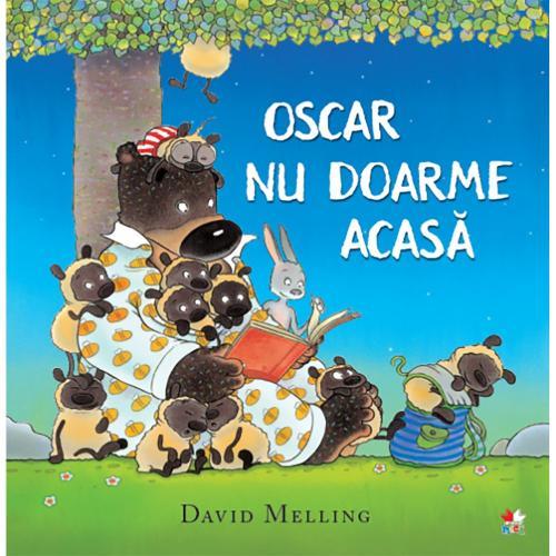 Carte Editura Litera - Oscar nu doarme acasa - David Melling - Carti pentru copii -