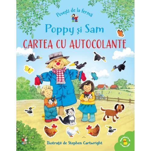 Carte Editura Litera - Povesti de la ferma Poppy si Sam Cartea cu autocolante - Carti pentru copii -