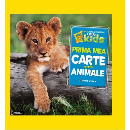 Carte Editura Litera - Prima mea carte despre animale - Catherine DHughes - Carti pentru copii -