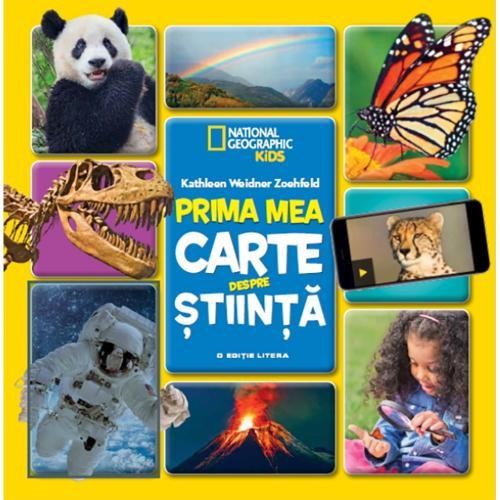 Carte Editura Litera - Prima mea carte despre stiinta - Carti pentru copii -