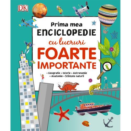 Carte Editura Litera - Prima mea enciclopedie cu lucruri foarte importante - Carti pentru copii -