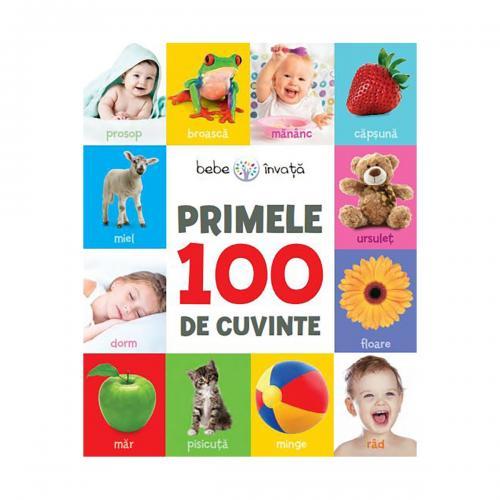 Carte Editura Litera - Primele 100 de cuvinte - Carti pentru copii -
