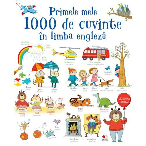 Carte Editura Litera - Primele mele 1000 de cuvinte in limba engleza - Carti pentru copii -