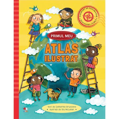 Carte Editura Litera - Primul meu atlas ilustrat - Carti pentru copii -