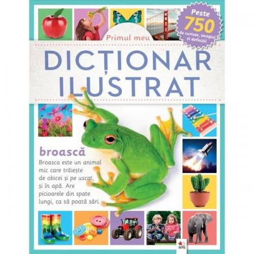 Carte Editura Litera - Primul meu dictionar ilustrat - Carti pentru copii -