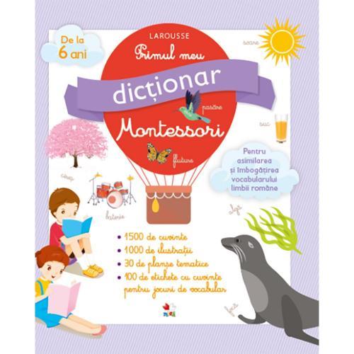Carte Editura Litera - Primul meu dictionar Montessori - Carti pentru copii -