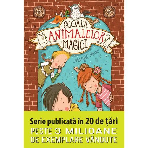Carte Editura Litera - Scoala animalelor magice - Margit Auer - Carti pentru copii -
