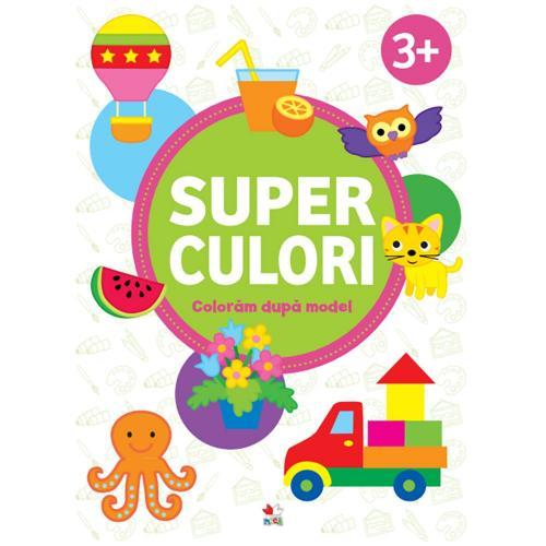 Carte Editura Litera - Superculori Coloram dupa model 3+ vol2 - Carti pentru copii -