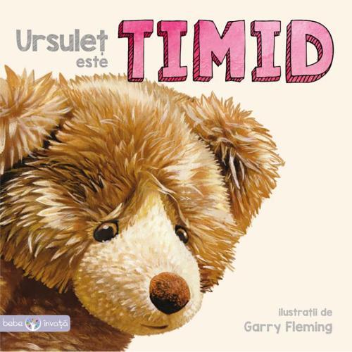 Carte Editura Litera - Ursulet este timid - Carti pentru copii -